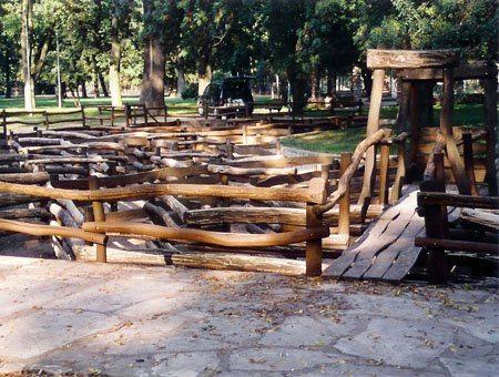 Drevené bludisko pre deti, Nitra