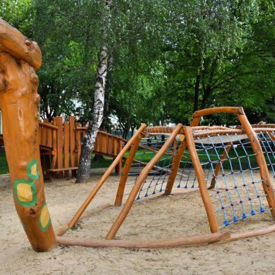 Korytnačka - pieskovisko s preliezkou