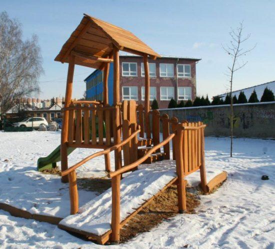 Detské ihrisko MŠ Levice