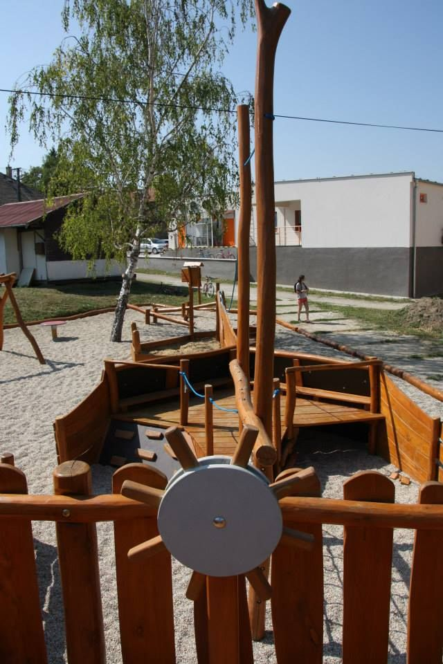 Detské ihrisko Loďka, Veľké Lovce
