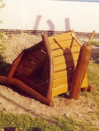 Drevené detské ihrisko, Nitra