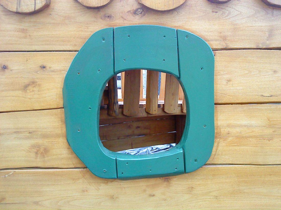 Preliezačka Loďka z agátového dreva, Zemné