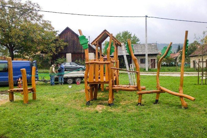 Detské ihrisko Dubodiel