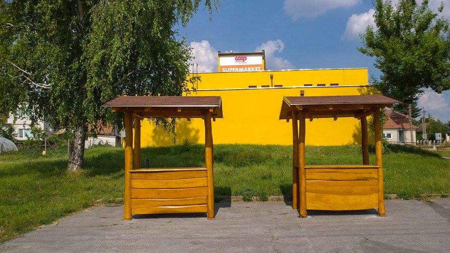 Trhové stánky - mobiliár