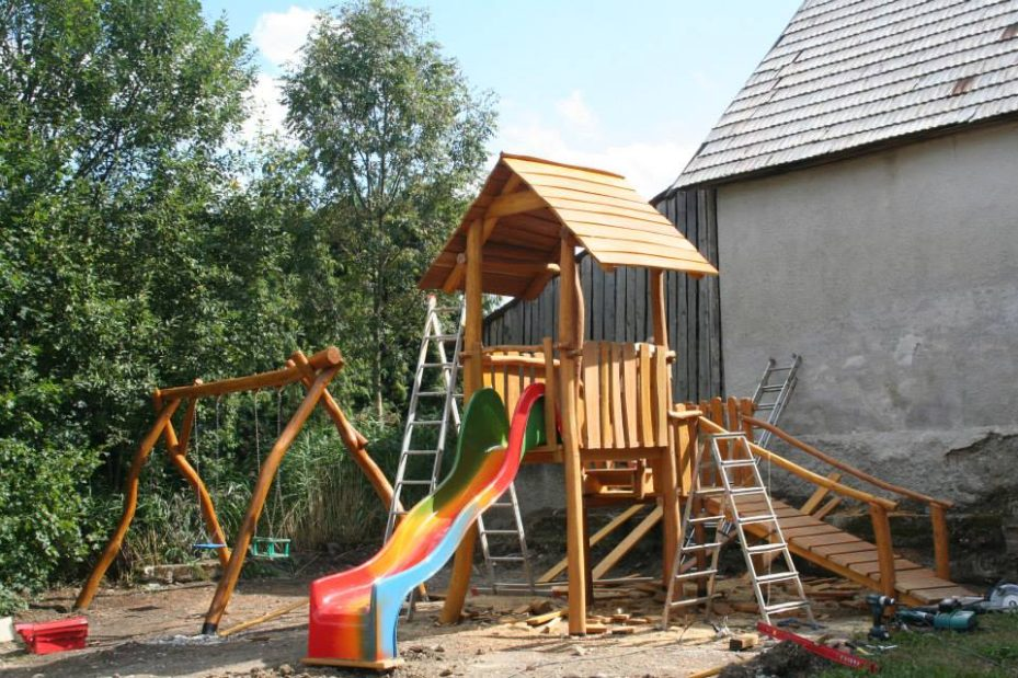Detské ihrisko v Dolnom Kalníku