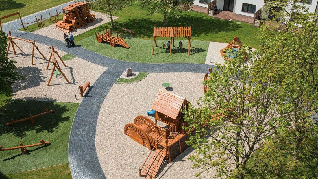 Detské ihrisko Život na dedine