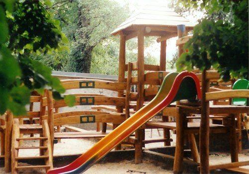 Drevené detské ihrisko Modra