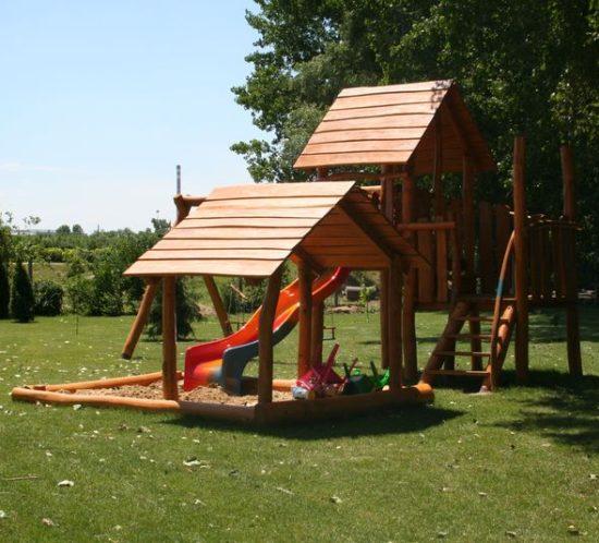 Drevené ihrisko pre deti do záhrady, Nové Zámky