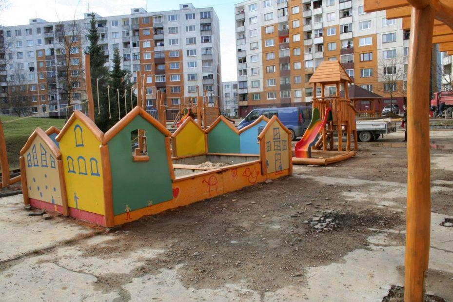 Detské ihrisko, Považská Bystrica
