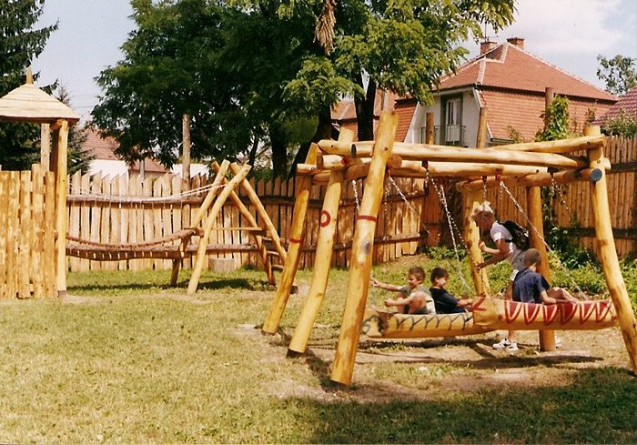 Indiánske detské ihrisko