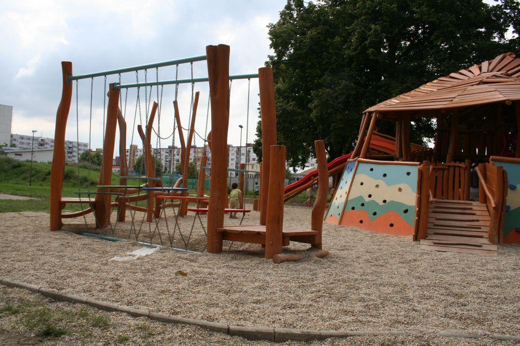 Detské ihrisko Rak pustovník