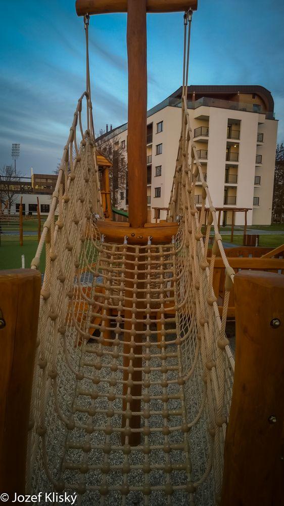 Veľká preliezka Loď - Hracie prvky na detské ihrisko