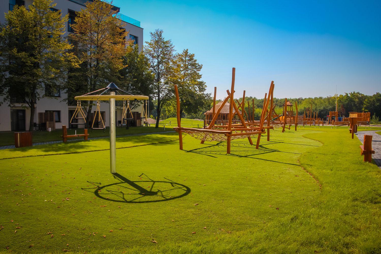 Hracie prvky na detské ihrisko - kolotoč