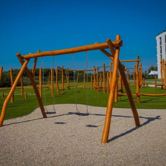Reťazové hojdačky - Hracie prvky na detské ihrisko