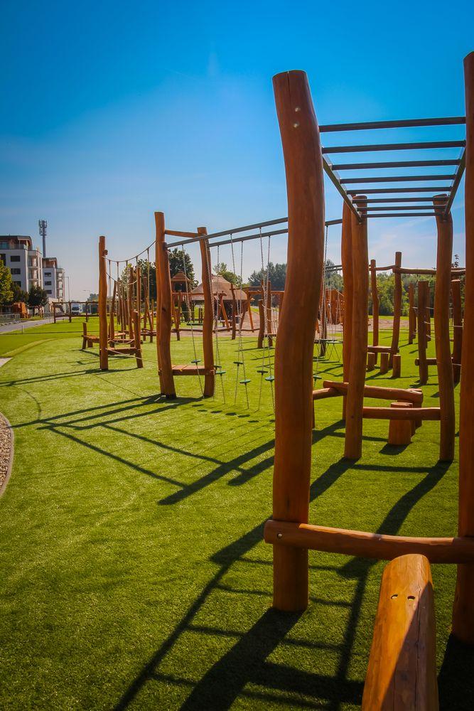 Fitness prvky na cvičenie a posilňovanie