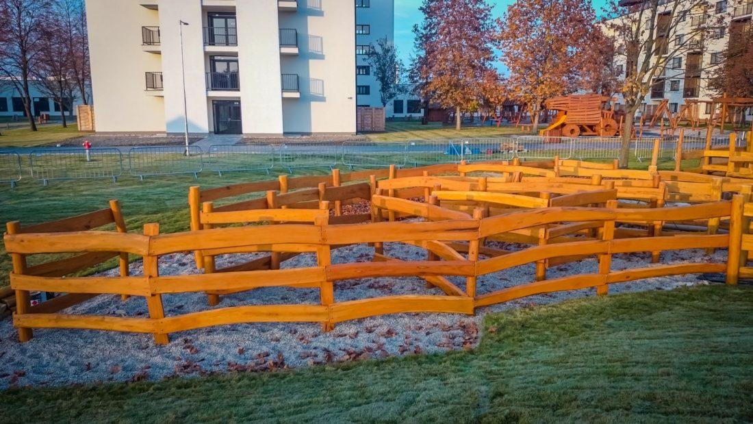Bludisko Ryba - drevený labyrint