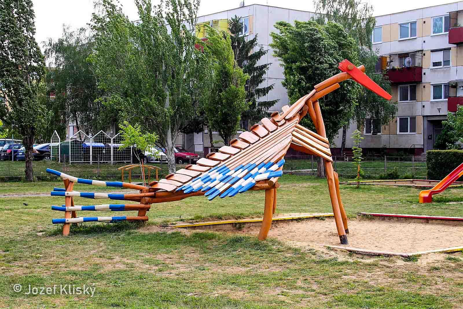 Tienidlo na pieskovisko Vták - hracie prvky na detské ihrisko