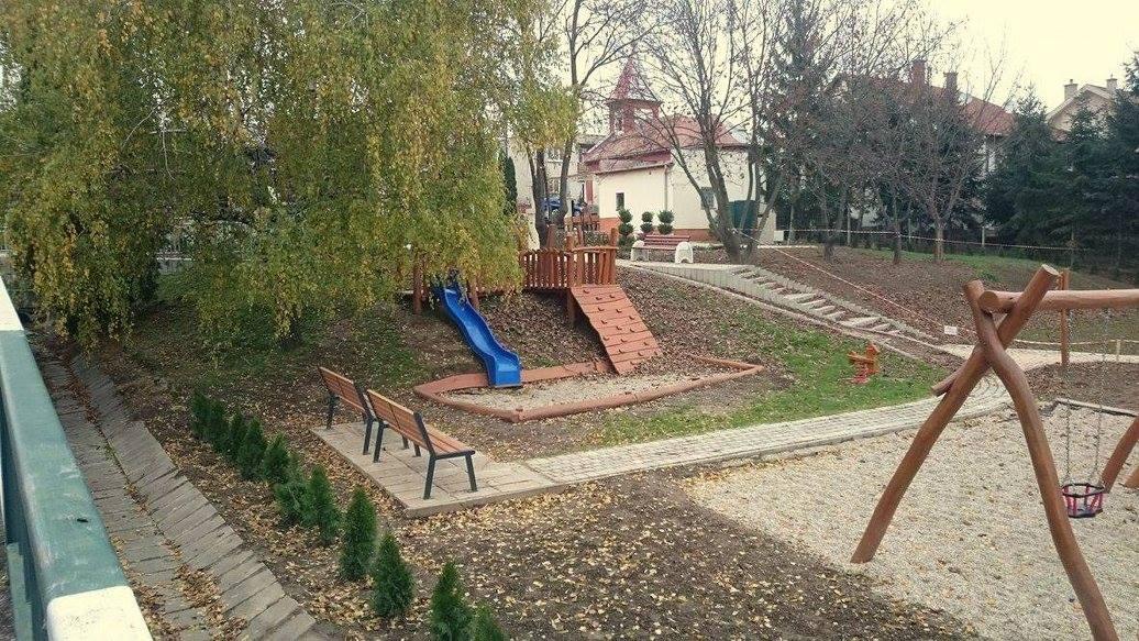 Detské ihrisko Na kopčeku Podhájska
