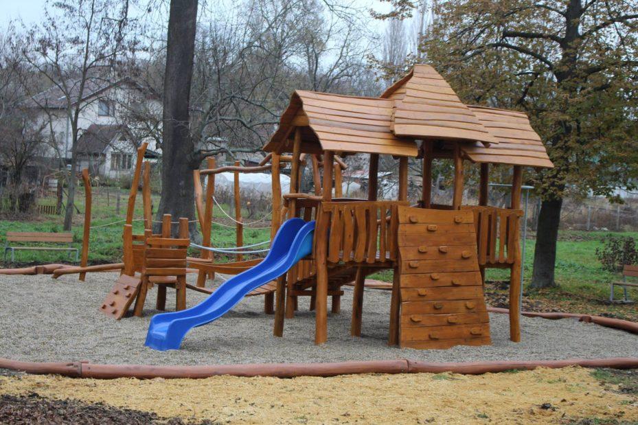 Detské ihrisko Trojveža s preliezkami