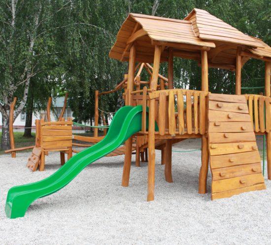 Detské ihrisko Trojveža, Veľký Meder, 2018