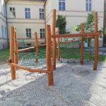 Fitdráha do školy - zostava prvkov na cvičenie
