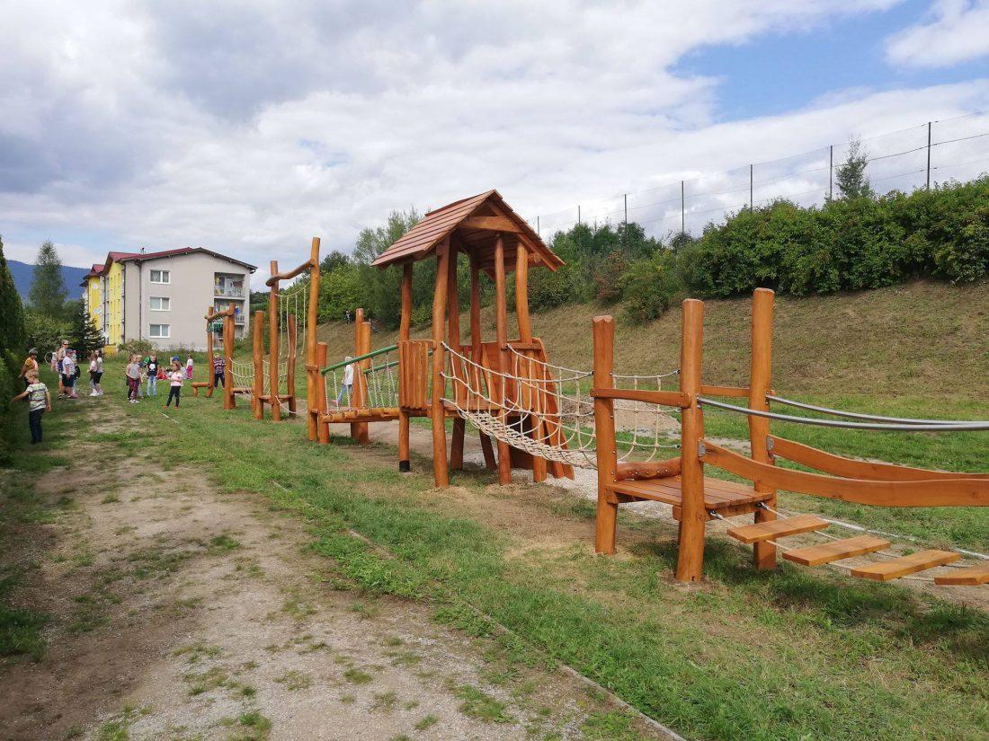 Fitveža s mostíkmi - predĺžená varianta